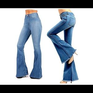 Vintage High Waist Women's Junior 70STrendy Jeans